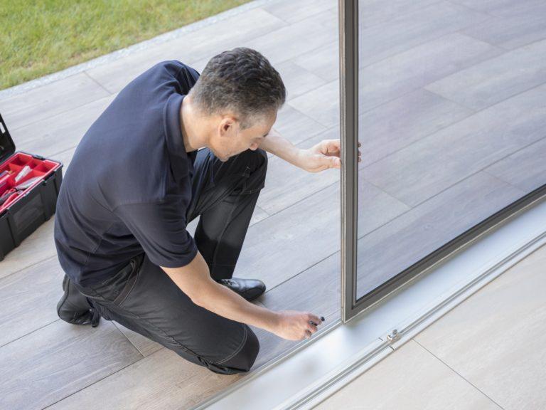 Insektenschutz Türen mit Rahmen