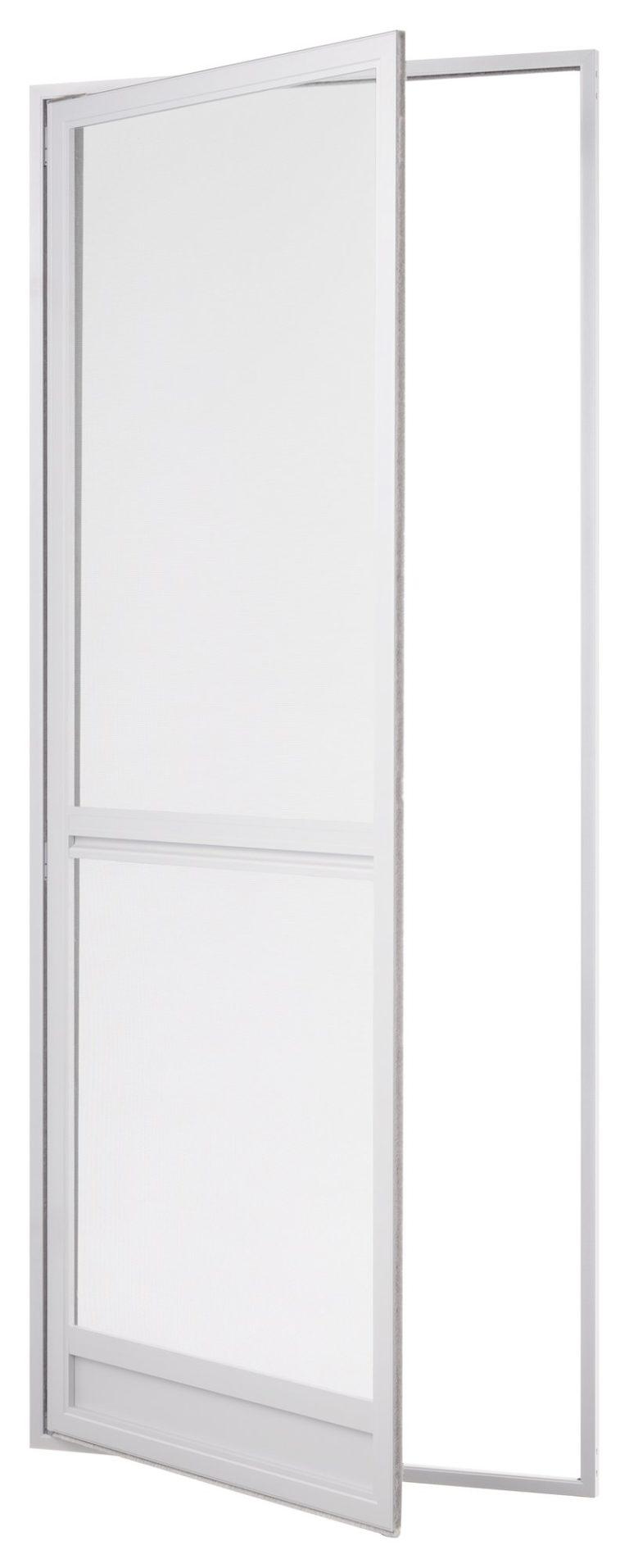 Insektenschutz Tür mit umlaufenden Rahmen